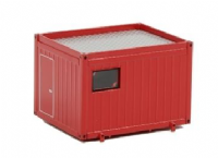 WSI Red 10 ft Container
